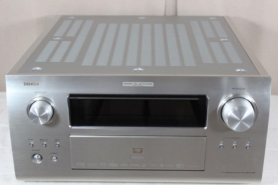 長野県松本市にてDENON デノン AVプリアンプ AVP-A1HDの買取